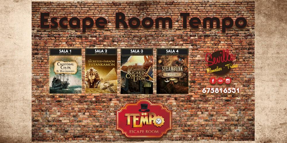 Regala una Experiencia de Escape Room Tempo en Sevilla